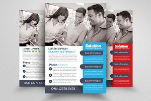 Marketing Consulting Business Flyer