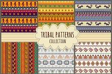 Tribal seamless patterns
