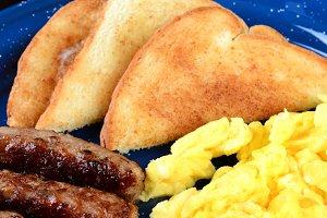 Scrambled Egg Breakfast Vertical