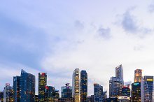 Singapore downtown