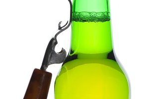 Beer Bottle with Opener