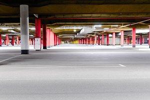 mall underground parking
