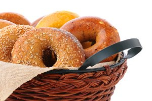 Bagels in Basket
