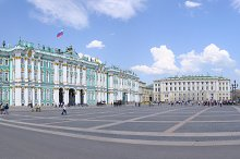 Palace Square, Saint-Petersburg, Russia