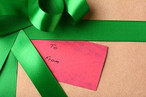 Gift Tag Closeup