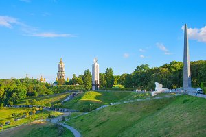 Places of interest in Kiev, Ukraine