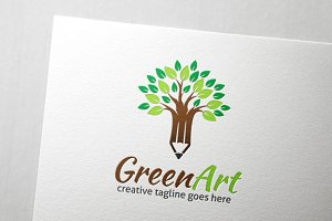 Green Art Logo