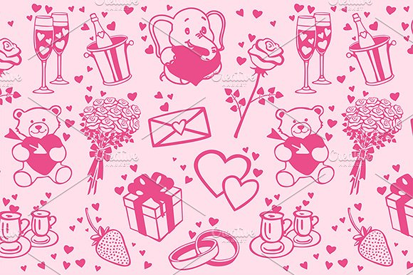 Love patterns set