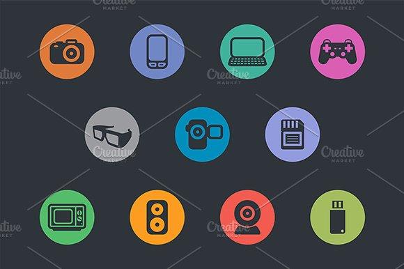 Multimedia Icons. Basics - Icons
