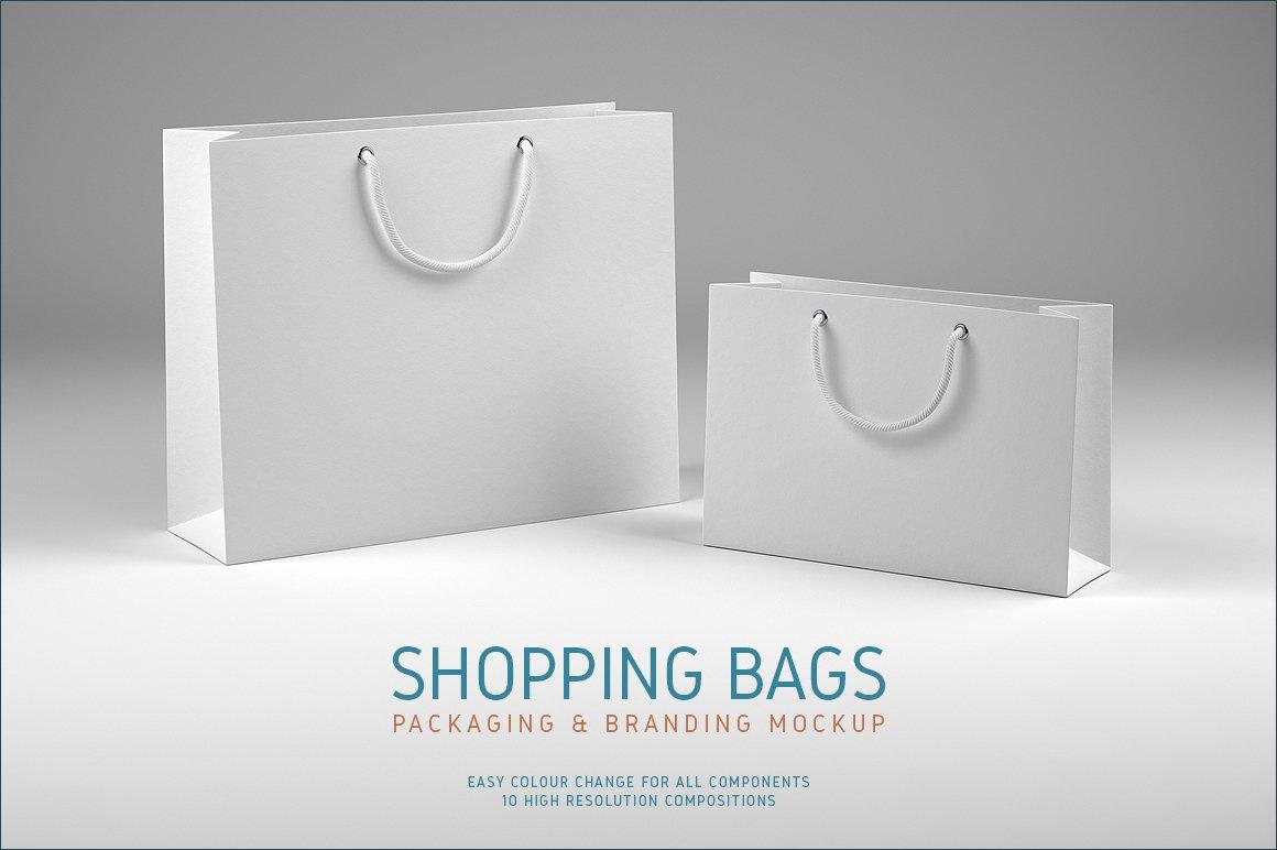 Shopping Bags Mockup Product Mockups Creative Market