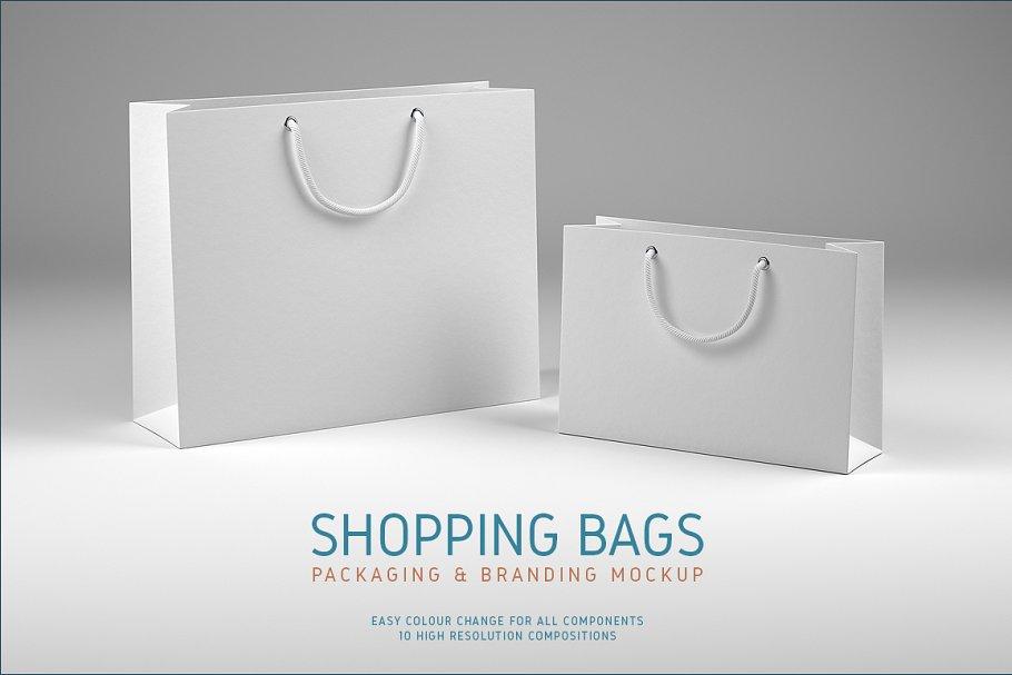 805e2fc47940 Shopping Bags Mockup ~ Product Mockups ~ Creative Market