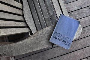 Bible on Wood
