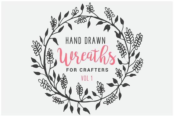Hand Drawn Floral Branding Kit Creative Illustrator Templates Creative Market