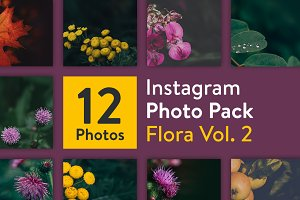 Instagram Photo Pack - Flora Vol. 2