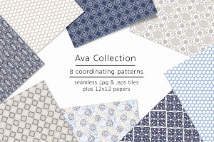 Ava Collection - vector & jpgs