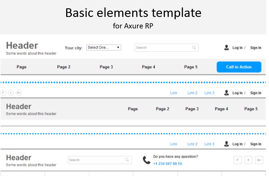 axure themes free