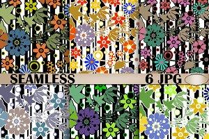 Floral seamless pattern . Textiles.
