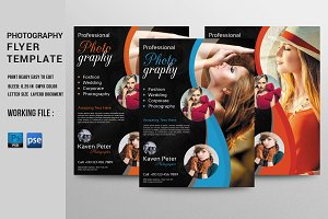 Photography Flyer Template-V350