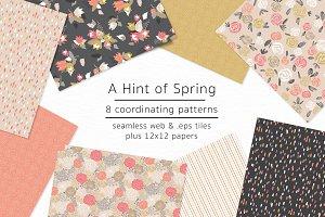 A Hint of Spring-vector & jpgs