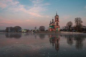church on the frozen coast