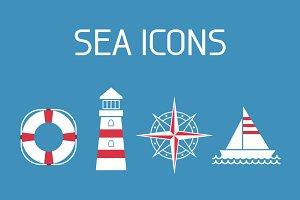 12 Sea Icons