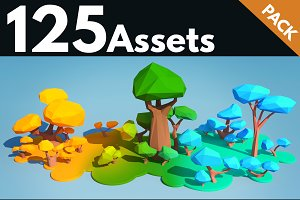 Trees and Bushes Pack - 02