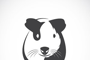 Vector of guinea pig design.