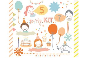 Party Kit Clip Art