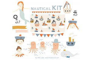 Nautical Kit clip art