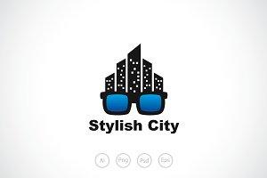 Stylish City Logo Template