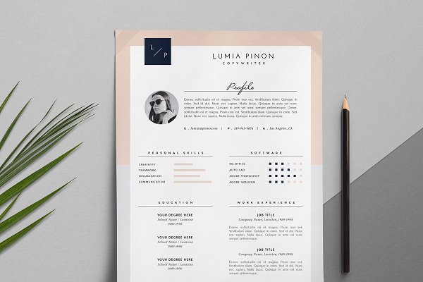 Cover Letter Templates: This Paper Fox - Resume + Cover Letter / Lumia