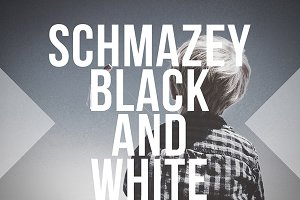Schmazey Black and White PS Action
