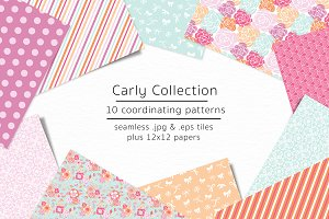 Carly Collection-vector & jpg files