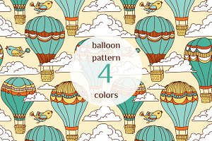 Air baloons pattern
