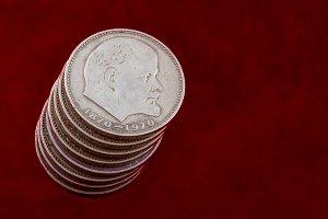 Lenin coins