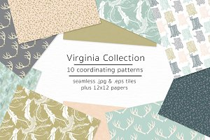 Virginia Collection-vector & jpgs