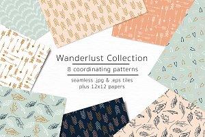 Wanderlust-vector & jpgs