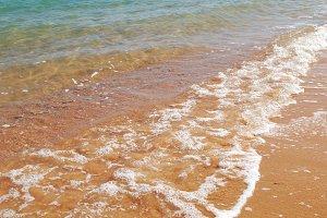 wave on sea coast