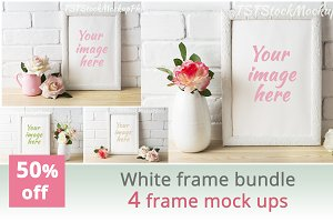 White frame bundle