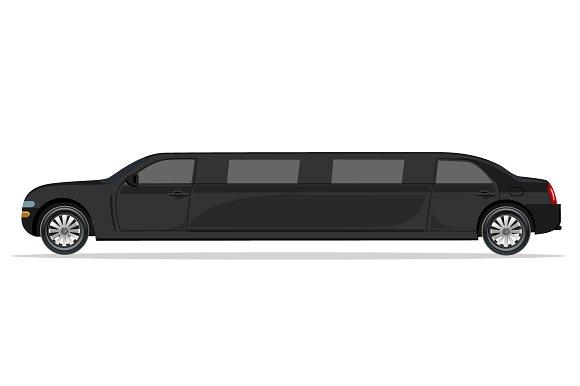 black limousine, design element