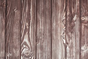 The wooden wall