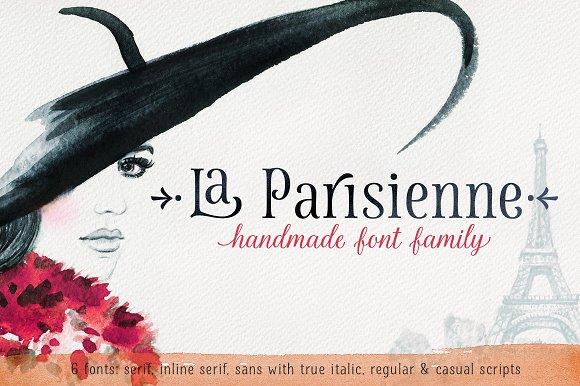 La Parisienne Font Collection