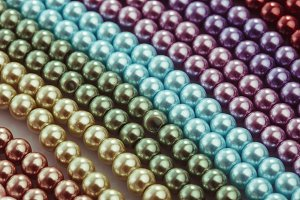 Necklace palette close up