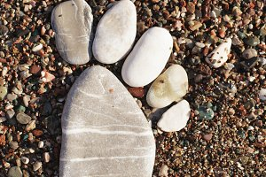 The stone foot