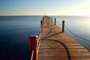 marine pier
