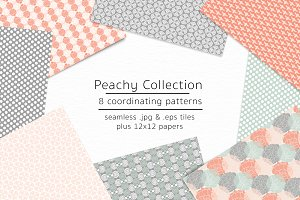 Peachy Collection-vector & jpgs