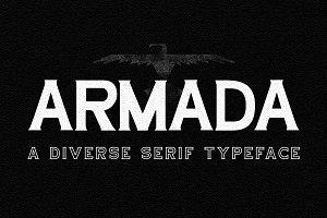 Armada / Serif Typeface