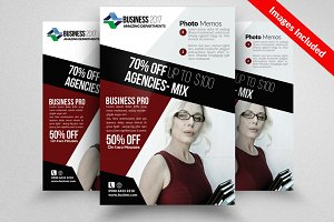 Accountant Business Flyer Template