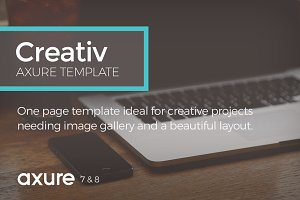 Creativ Axure Template