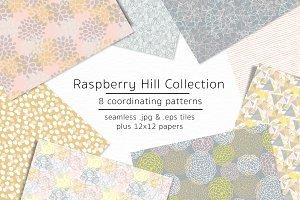Raspberry Hill-vector & jpgs
